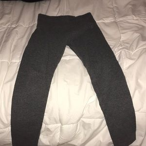 justice grey leggings